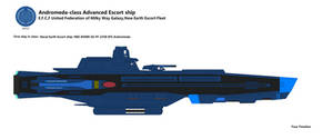 Andromeda-class Advanced Escort ship