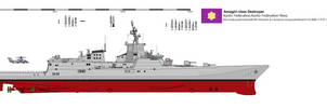 Amagiri-class Guided Missile Destroyer