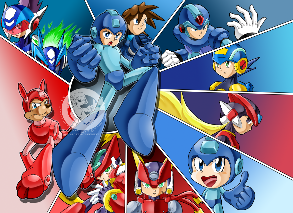 Return of the Blue Bomber by slimthrowed