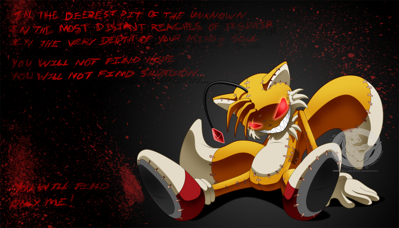 Clichés de Tails Doll Tails_Doll__Only_Me_by_slimthrowed