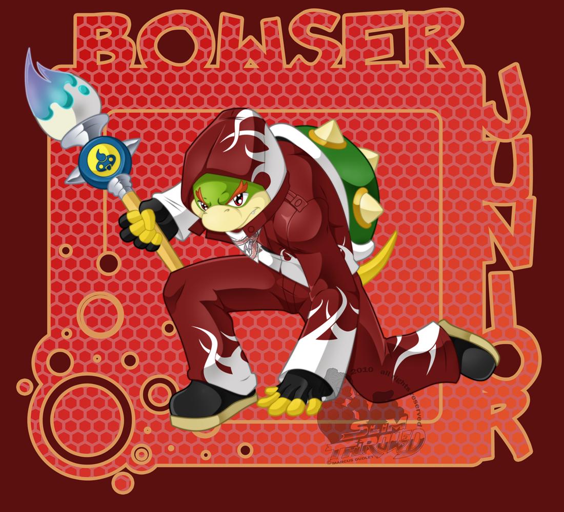 Bowser Jr. By Slimthrowed On DeviantArt