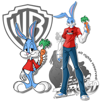 Remix: Buster Bunny by slimthrowed