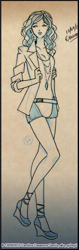 Boceto Arcoiris #27 ~Elegante/Color~ by quinqui