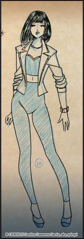 Boceto Arcoiris #28 ~Elegante~