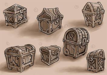 Chest Designs by Scriblab