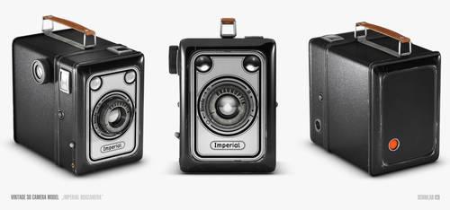 3D Model - Imperial Boxcamera by Scriblab