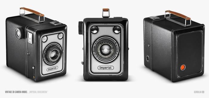 3D Model - Imperial Boxcamera