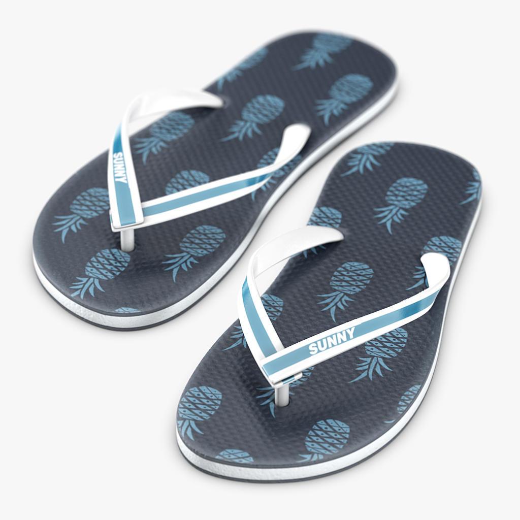 Flipflop sandals 3D model