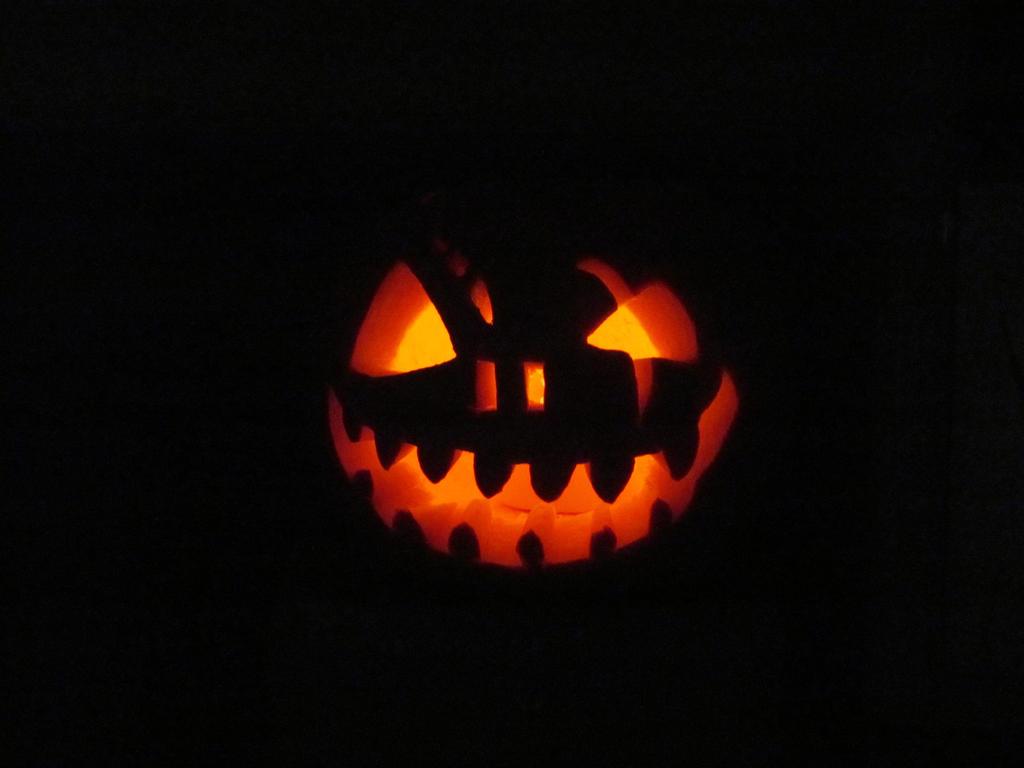 Scary Pumpkin Face By Britstock On Deviantart