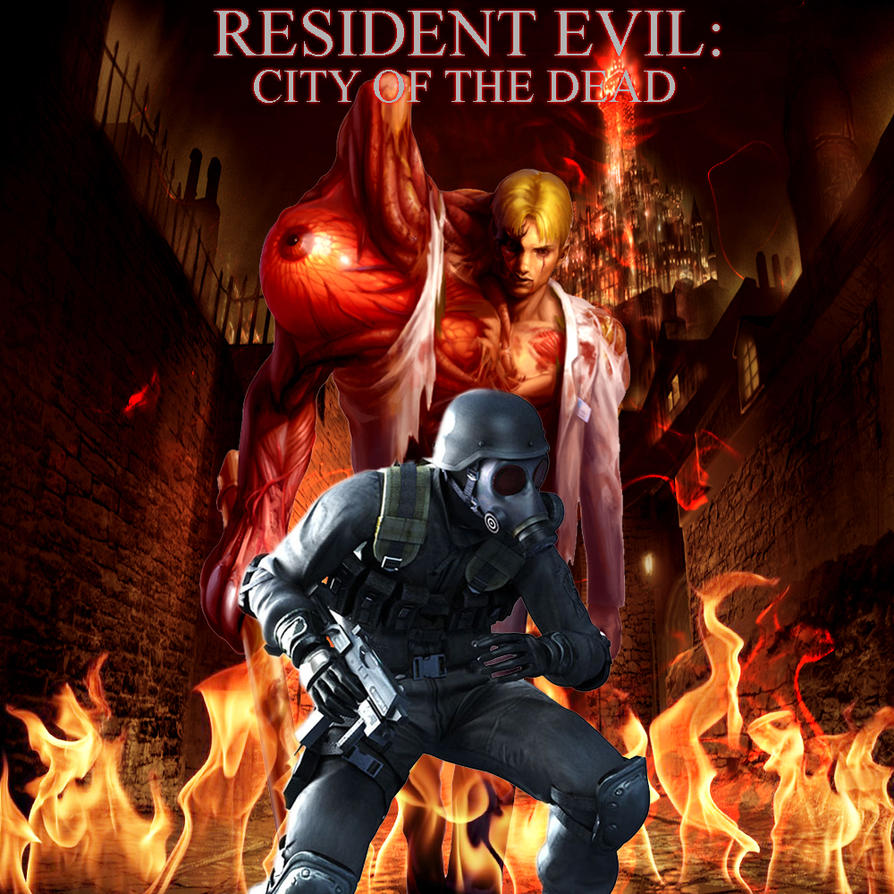 resident evil city of the dead wallpaper 3 by