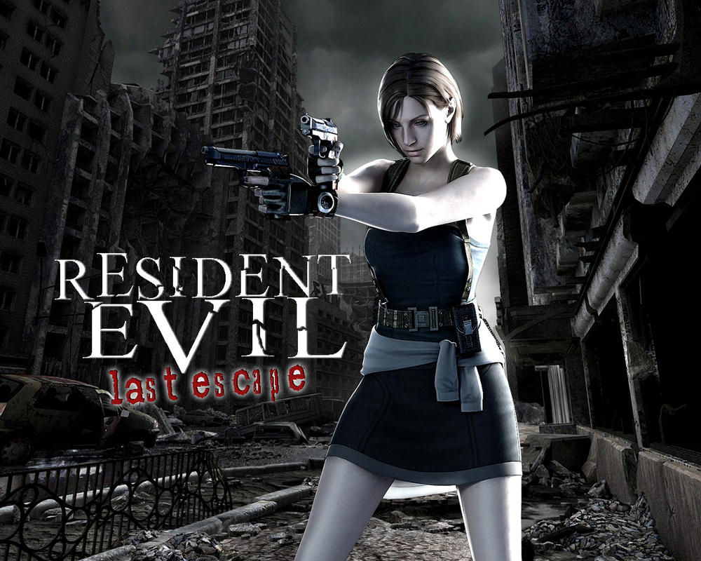 Hd wallpaper resident evil - Resident Evil Last Escape Hd Wallpaper By Cuttingedge93