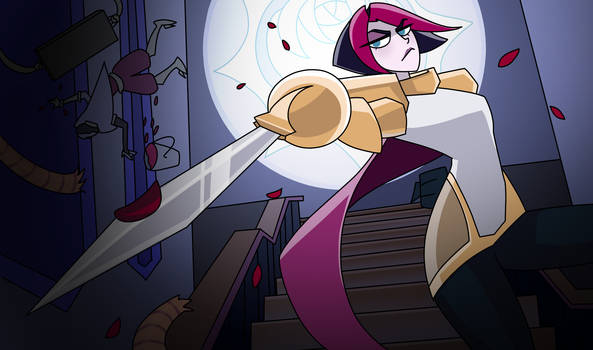 Fiora - The Grand Duelist (My style)