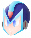Megaman x's head, again XDD by Cieltron