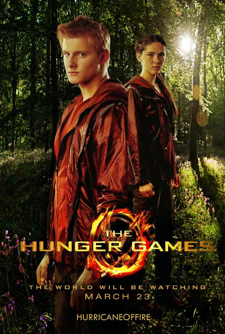 Cato and Clove - The Hunger Games Poster by hurricaneoffire on ...