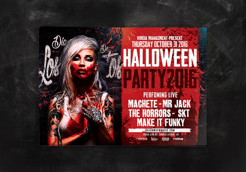 Halloween Party Flyer / Poster