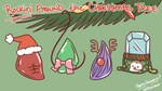 Wallpaper - ROCKin Around the Christmas Tree by mochibuni