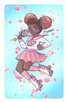 Roller Skate Magical Girl