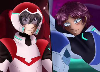 Keith and Lance screenshot redraw (Voltron) by Asma-chan
