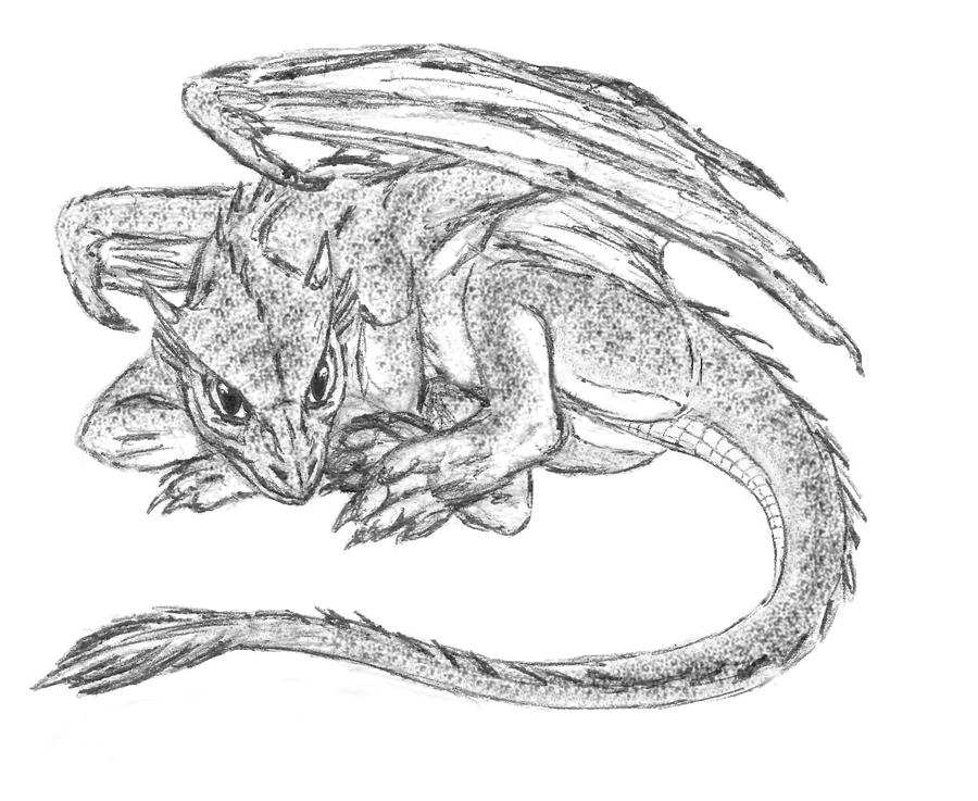 Small dragon7b by s ta s on deviantart for Small art drawings