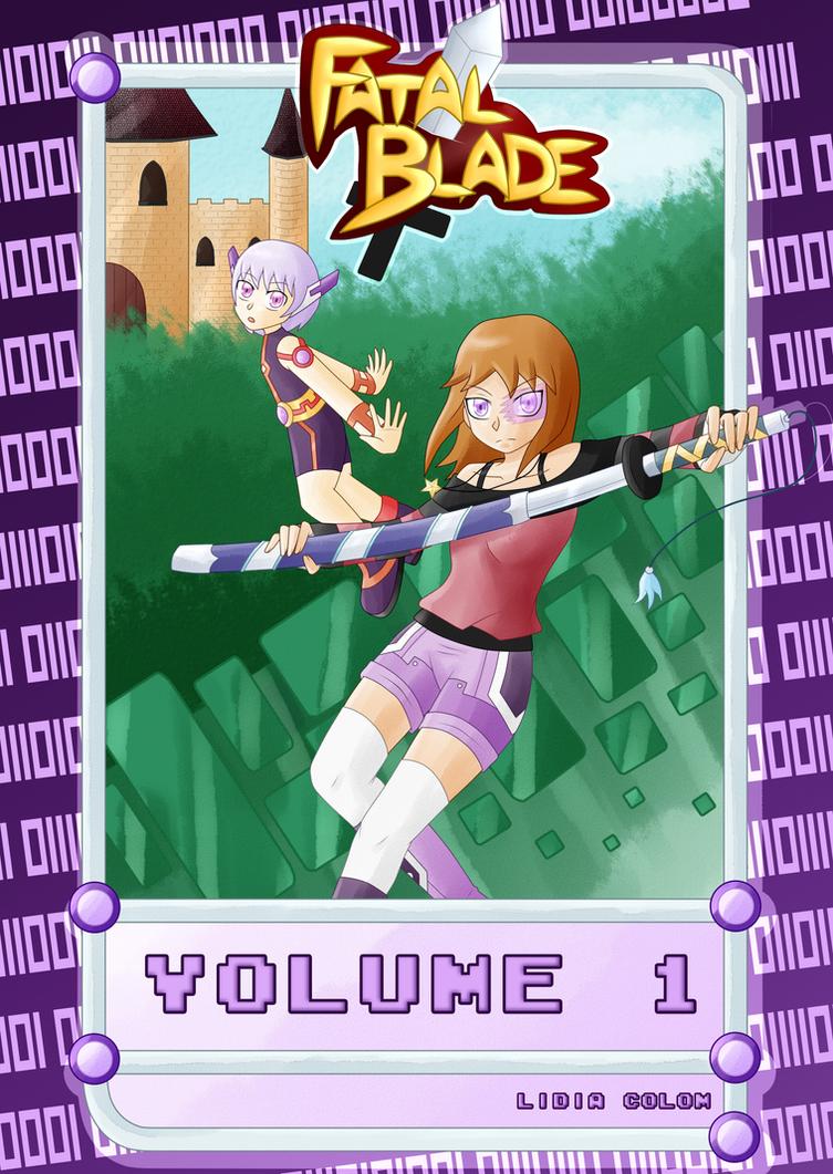 [Fatal Blade] Volume 1 cover (2016) by MayuAikawa