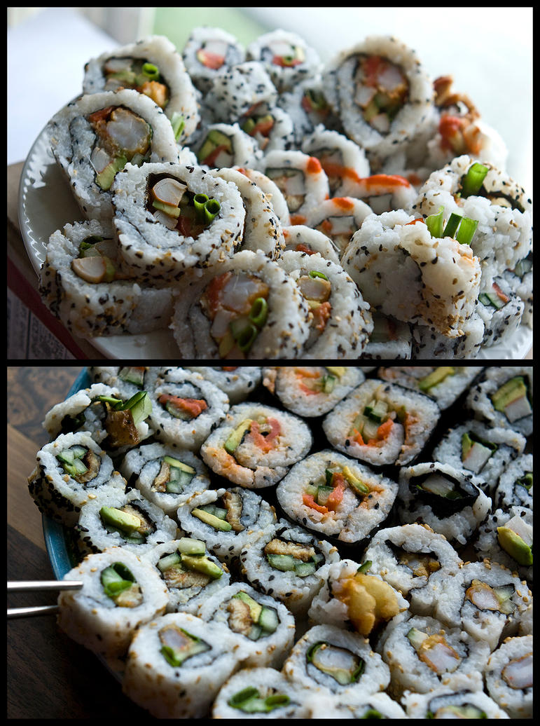 Sushi Platters by copperrein