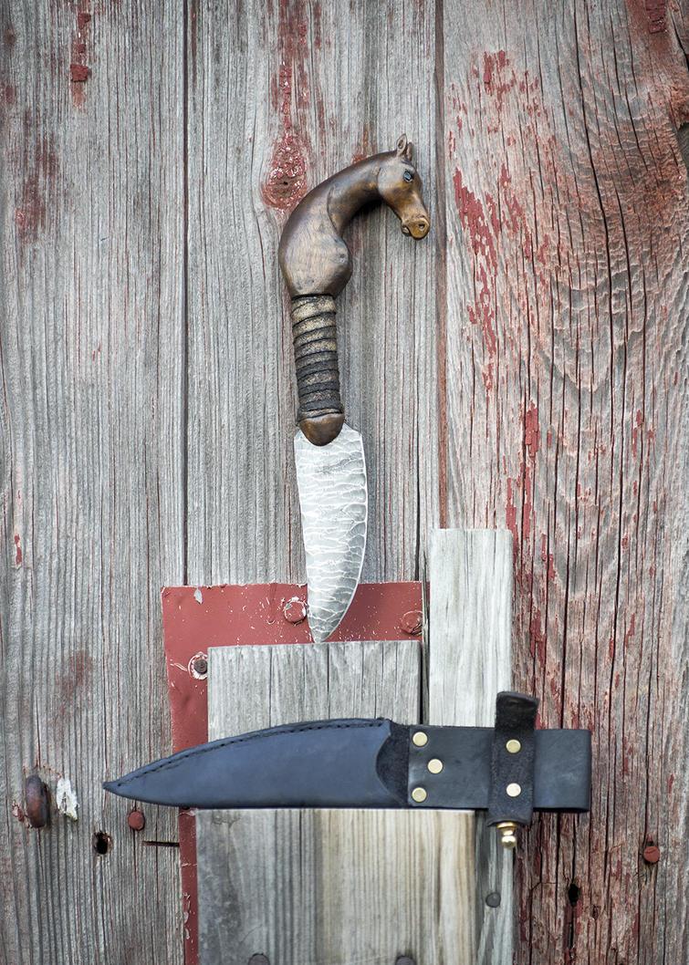 Fox Pottawatomie Knife by copperrein
