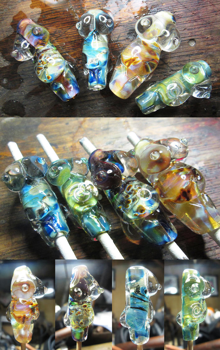 Glass goddesses by copperrein