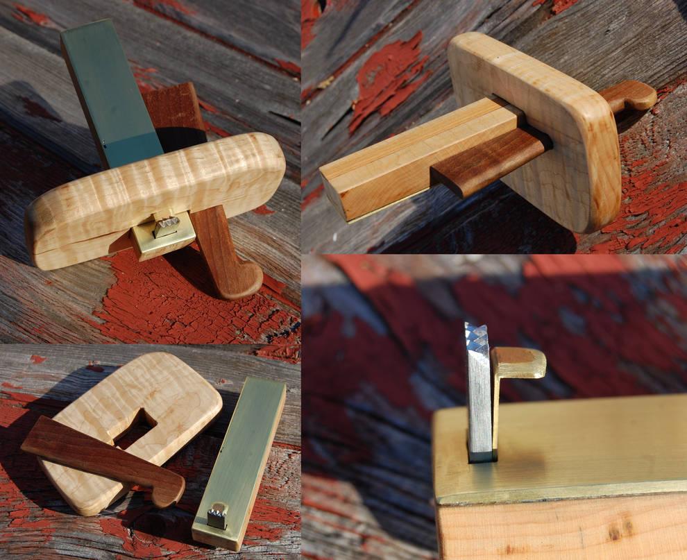 Handmade Cooper's Croze by copperrein