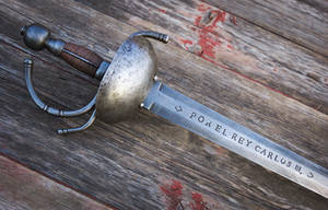 1771 Cavalry Sword Completed by copperrein