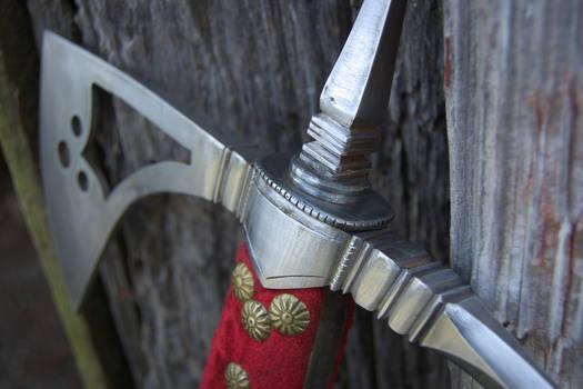 16th Century Italian Battleax for client