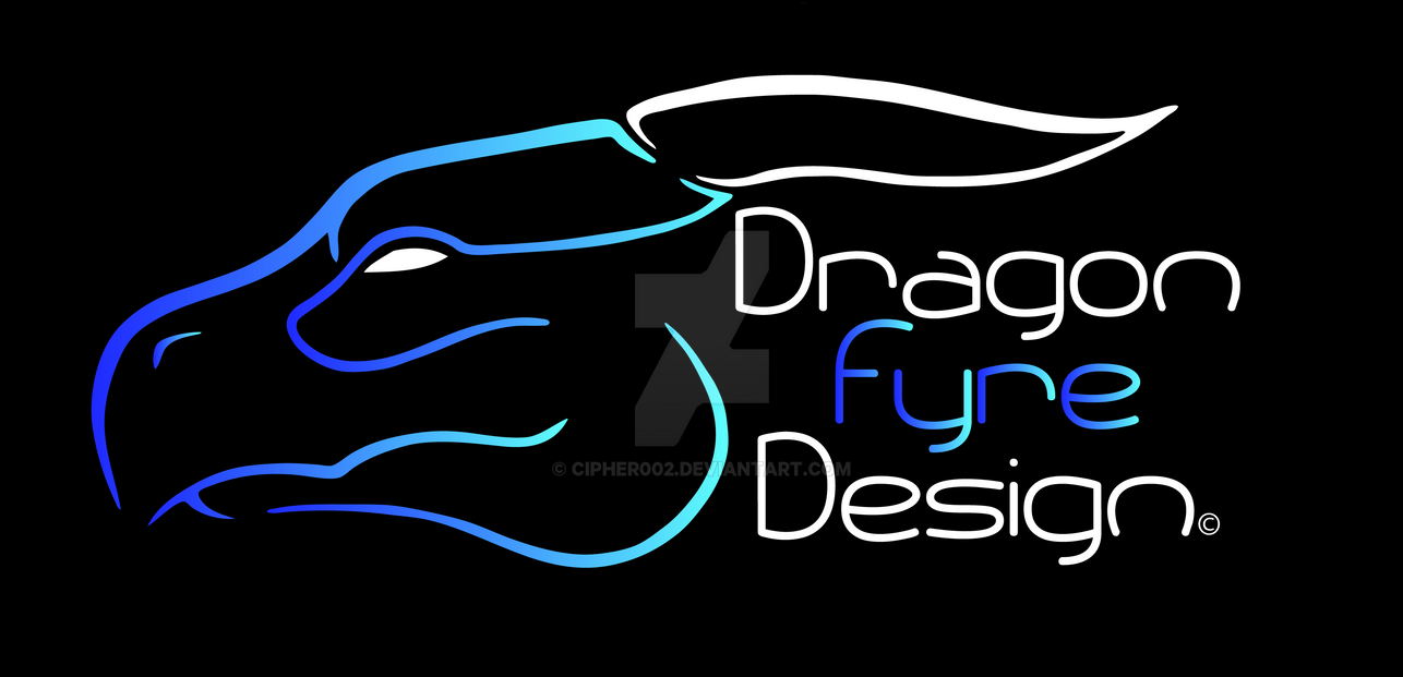 Dragon Fyre Design Logo by Cipher002