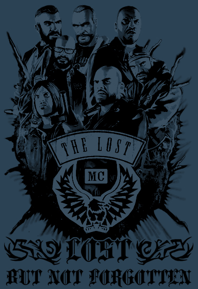 The Lost MC Mural by HoleInTheSky88