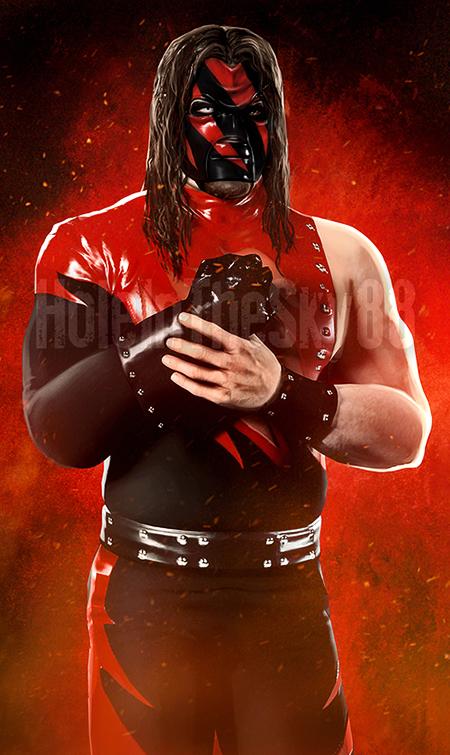 WWF Kane 1999 by HoleInTheSky88