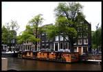 Amsterdam Prinsengracht by Snowflaky