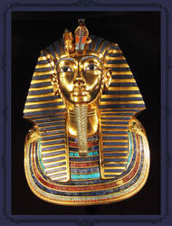 King Tut's Golden Mask by Snowflaky