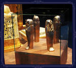 King Tut's little coffins