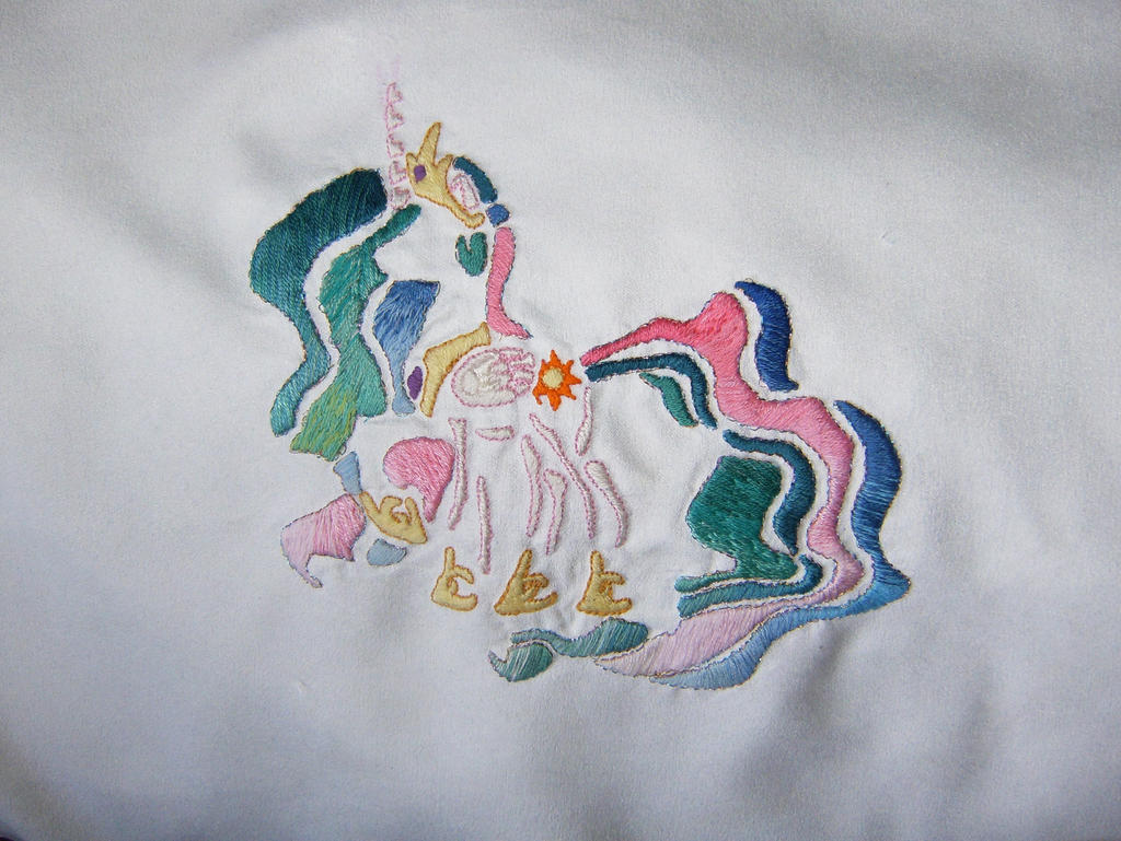 Embroidered Celestia by nizati