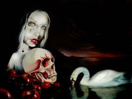 Dark Sacred Lake full by AlchemyArtist