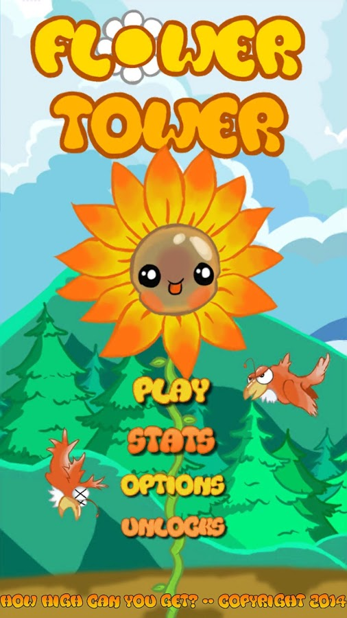 FLOWER TOWER: How High can you Get? THE GAME! by AlchemyArtist