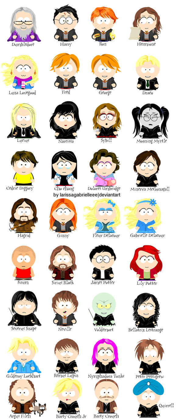 Create your own Southpark character with SP Studio