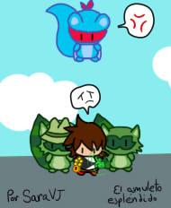 Personajes sprite mini El amuleto esplendido by 199800