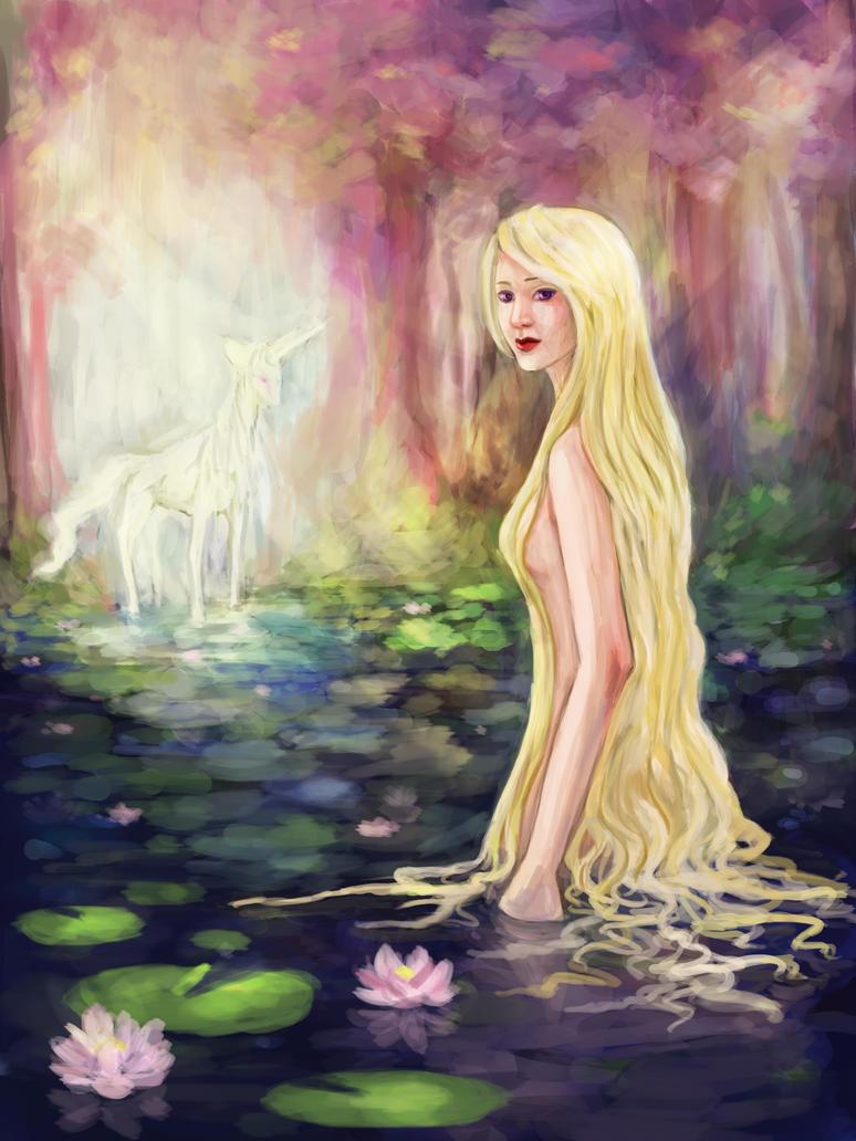 Unicorn Pond by Jujulica