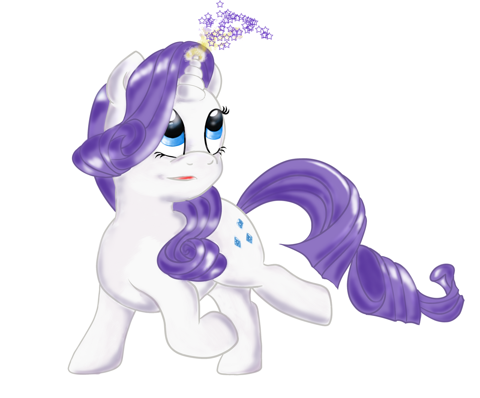 Chibi Rarity My Little Pony by aprilj0313 on DeviantArt