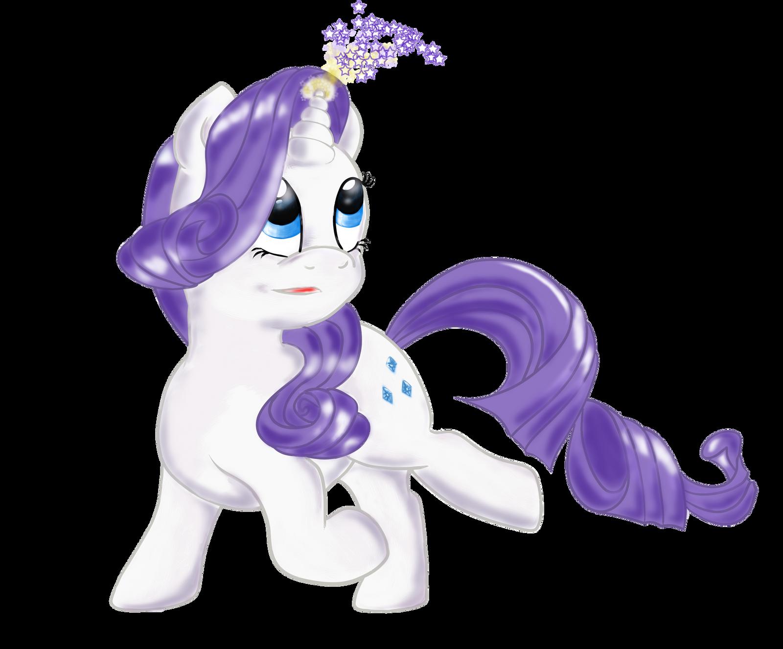 Chibi Rarity My Little Pony by aprilj0313 on DeviantArt