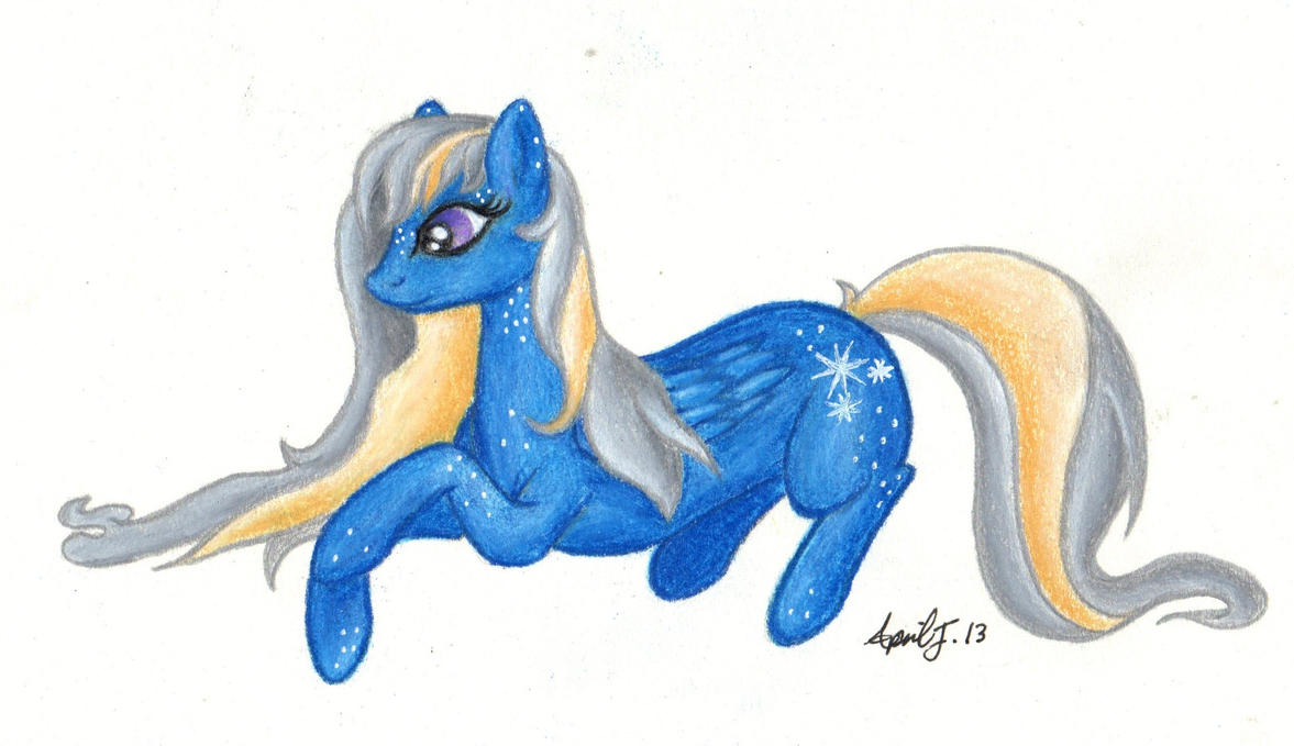 Starlight Speckle OC request by aprilj0313