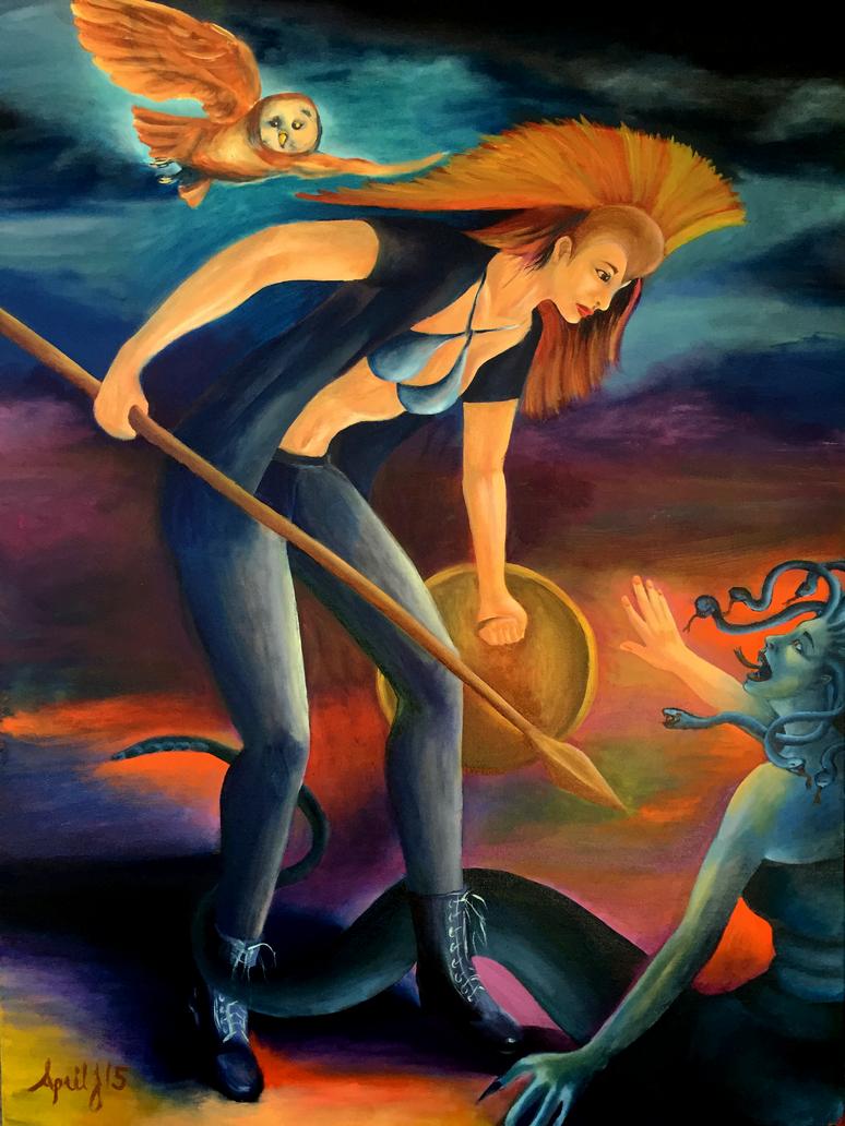 Athena's Vengeance by aprilj0313