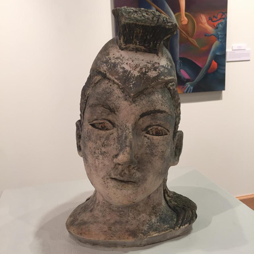 Athena, Goddess of War by aprilj0313