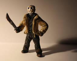 Friday 13th - Jason by NessaSan