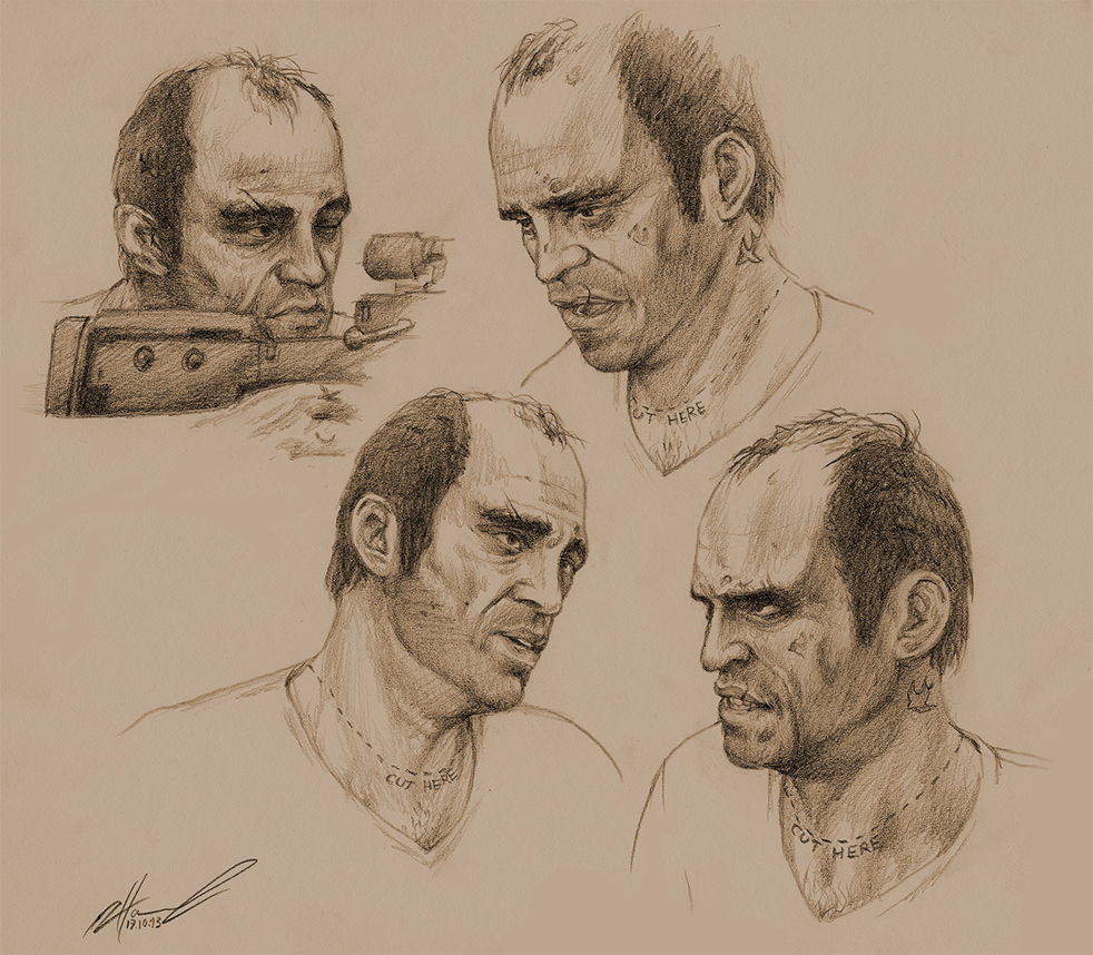 Trevor Philips by NessaSan