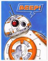 #011 - BB-8 [Star Wars] by NessaSan